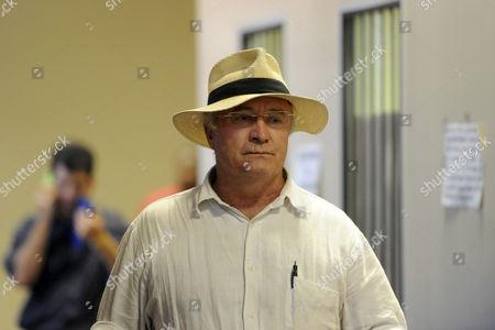 Oscar Pistorius's father, Henke Pistorius