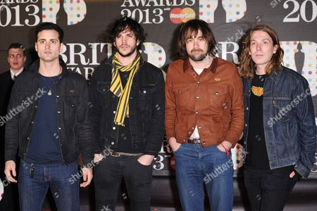 The Vaccines - Arni Hjorvar, Pete Robertson, Justin Young and Freddie Cowan