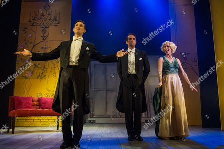 'The Tailor-Made Man' - Bradley Clarkson (Jimmy Shields), Faye Tozer (Marion Davies) and Dylan Turner (William Haines)