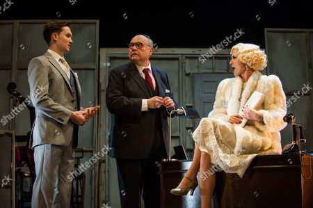 'The Tailor-Made Man' - Dylan Turner (William Haines), Mike McShane (Louis B. Mayer) and Faye Tozer (Marion Davies)