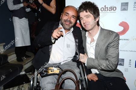 Ash Atalla and Noel Gallagher