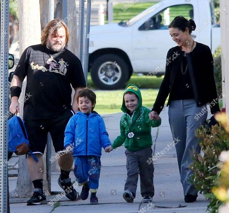 Jack Black, Thomas David Black, Samuel Jason Black and Tanya Haden