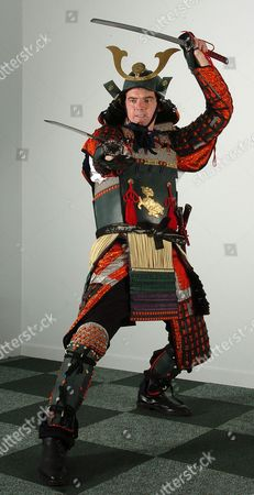 Britain's Only Samurai Warrior ..... Tv Producer Karl Beattie From Cheadle Hulme Manchester Who Is Britain's Only Fully Fledged Samaurai Warrior And Undefeated Champion In The World Traditional Full Contact Championships.