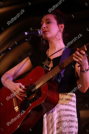 Editorial photo of Rachael Sage in concert at the Union Chapel, London, Britain - 17 Feb 2013
