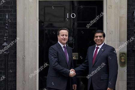 Prime Minister, David Cameron meets Pakistan's Prime Minister, Raja Pervaiz Ashraf