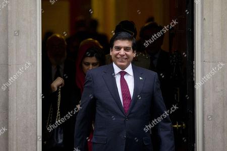 Pakistan's Prime Minister, Raja Pervaiz Ashraf