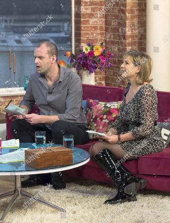 Stock Image of Mark Frith and Penny Smith
