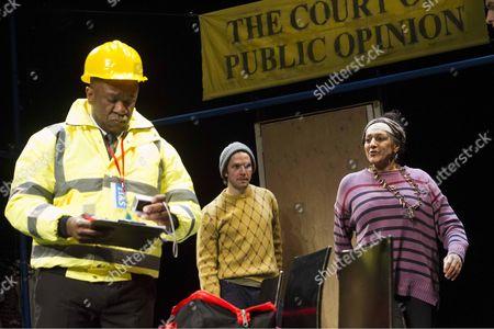 Lucian Msamati as McDonald, Damien Molony as Ray, Meera Syal as Jen