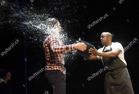 Damien Molony as Jason, Lucian Msamati as McDonald