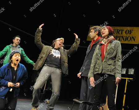 Daniel Kendrick as Ryan, Susan Brown as Joan, Ferdy Roberts as Zebedee, Ben Dilloway as Tom, Laura Elphinstone as Kelly