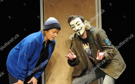 Editorial picture of 'If You Won't Let us Dream, We Won't let You Sleep' play performed at the Royal Court Theatre, London, Britain - 19 Feb 2013