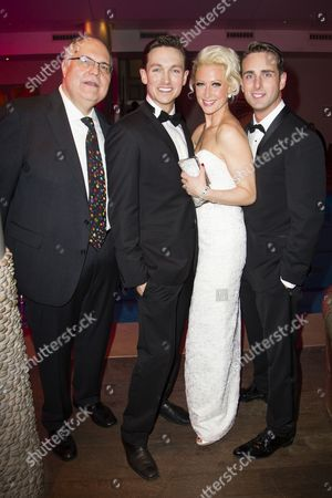 Mike McShane (Louis B Mayer), Dylan Turner (William Haines), Faye Tozer (Marion Davies) and Bradley Clarkson (Jimmy Shields)