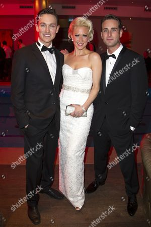 Dylan Turner (William Haines), Faye Tozer (Marion Davies) and Bradley Clarkson (Jimmy Shields)
