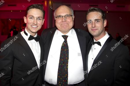 Dylan Turner (William Haines), Mike McShane (Louis B Mayer) and Bradley Clarkson (Jimmy Shields)