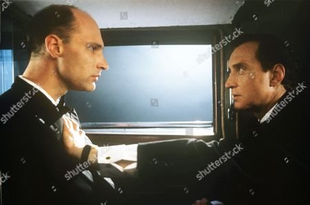 Stock Image of Stephan Grothgar and Charles Dance