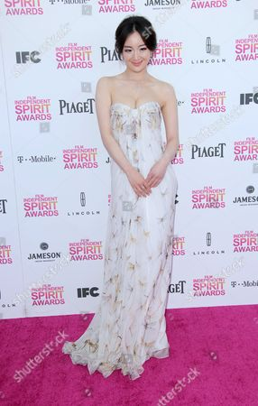 Editorial picture of 2013 Film Independent Spirit Awards, Los Angeles, America - 23 Feb 2013