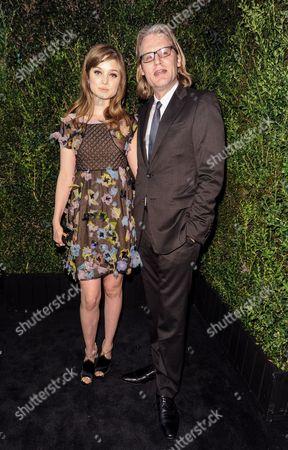 Bella Heathcote and Andrew Dominik