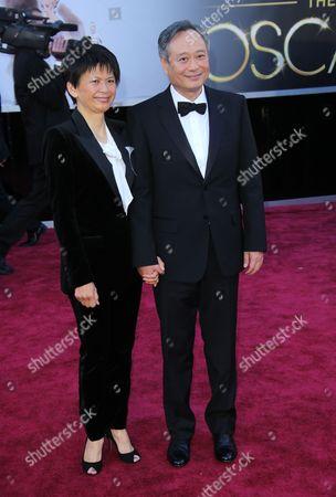 Ang Lee and wife Jane Lin