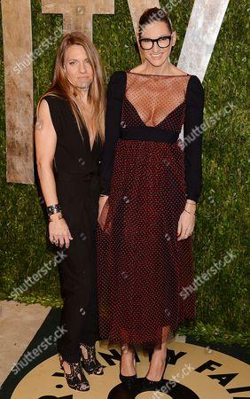 Courtney Crangi and Jenna Lyons
