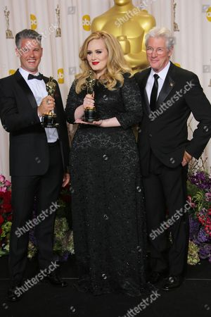 Paul Epworth, Adele and Richard Gere