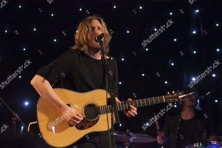 Former Razorlight drummer Andy Burrows performs at the Bush Hall, London 21/02/13
