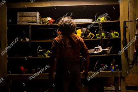 Stock Photo of Texas Chainsaw 3D - Dan Yeager