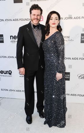 Stock Photo of Mike Dolan and Sadie Alexandru