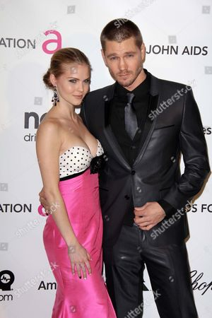 Stock Image of Kenzie Dalton and Chad Michael Murray