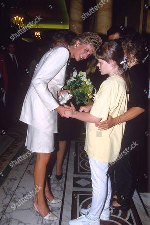 Princess Diana and Lissa Hermans