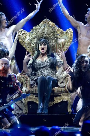 Editorial image of Army of Lovers at the Melodifestivalen 2013, Sweden - 22 Feb 2013