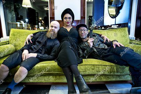 Army of Lovers -  Alexander Bard, Camilla Henemark and Jean-Paul Barda