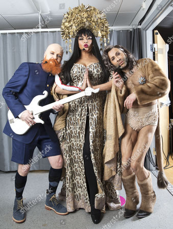 Army of Lovers - Alexander Bard, Camilla Henemark and Jean-Pierre Barda