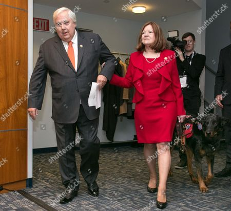 Stock Photo of Clive Palmer and Helen Benziger