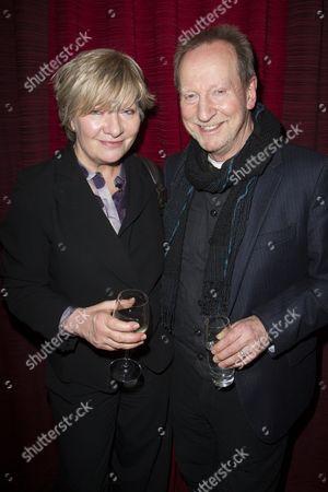 Hildegard Bechtler and Bill Paterson
