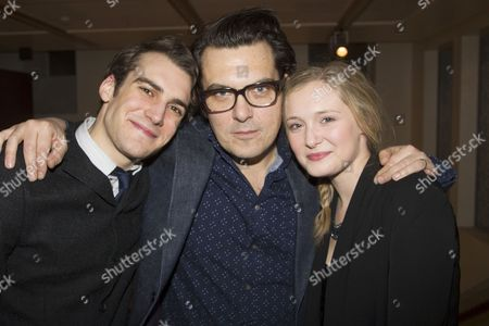Joshua Silver, Joe Wright and Amy Morgan
