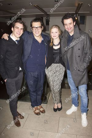 Joshua Silver, Joe Wright, Amy Morgan and Daniel Mays