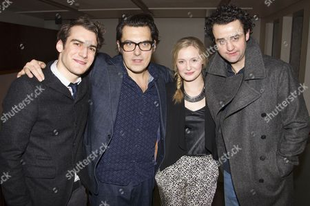 Stock Image of Joshua Silver, Joe Wright, Amy Morgan and Daniel Mays