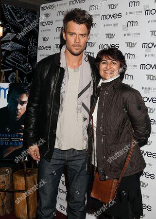 Josh Duhamel and Moonah Ellison (Publisher)
