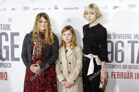 Natascha Kampusch, Amelia Pidgeon, Antonia Campbell-Hughes
