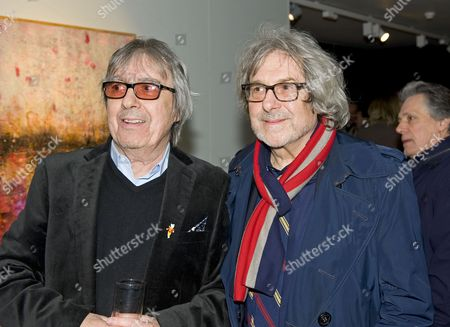 Editorial photo of Bill Wyman's new exhibit 'Reworked' at Rook and Raven Gallery, London, Britain - 26 Feb 2013