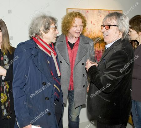 Editorial picture of Bill Wyman's new exhibit 'Reworked' at Rook and Raven Gallery, London, Britain - 26 Feb 2013