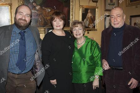 Mark Shenton, Isla Blair, Ruth Leon and Braham Murray