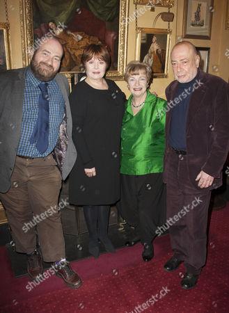 Stock Photo of Mark Shenton, Isla Blair, Ruth Leon and Braham Murray
