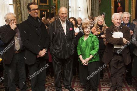 Michael Pennington, Rupert Everett, Ed Victor, Ruth Leon and Simon Callow
