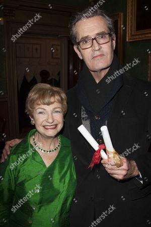 Ruth Leon and Rupert Everett
