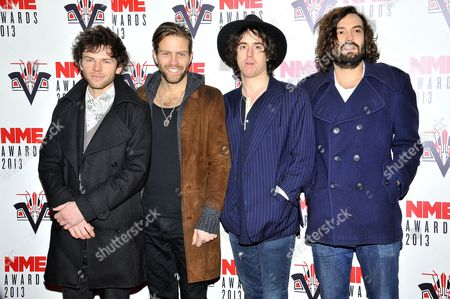 Editorial image of NME Awards 2013, London, Britain - 27 Feb 2013