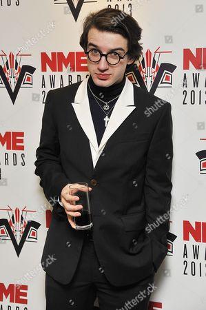 Editorial photo of NME Awards 2013, London, Britain - 27 Feb 2013