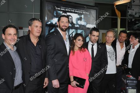 Guests, Wade Barrett, Noomi Rapace, Colin Farrell, Niels Arden Oplev, Terrence Howard