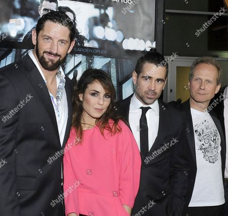 Wade Barrett, Noomi Rapace, Colin Farrell, Niels Arden Oplev