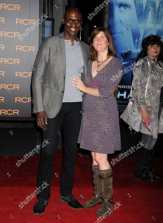 Lance Reddick and wife Stephanie Reddick